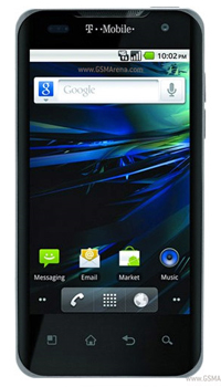 Image of T Mobiles G2x Mobile
