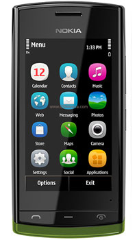 Image of Nokia 500 Mobile