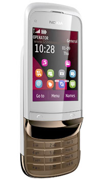Image of Nokia C2 02 Touch and Type Mobile