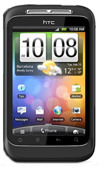 Image of HTC Wildfire S Mobile