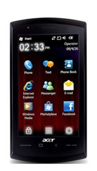 Image of Acer Mobile neoTouch S200 F1 Mobile