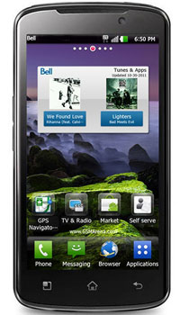 Image of LG Optimus 4G LTE Mobile