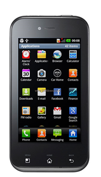 Image of LG Optimus Sol E730 Mobile
