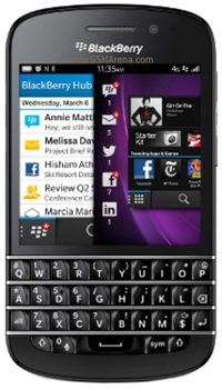 Image of BlackBerry Q10 Mobile