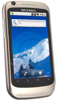 Image of China Mobiles K600A Mobile
