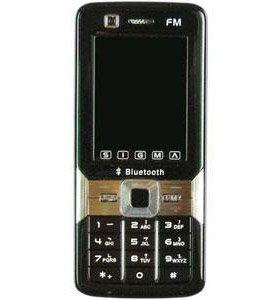 Image of China Mobiles Sigmatel FXD T99i Dual Sim Mobile