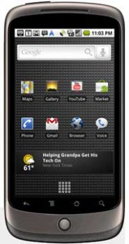 Image of Google Nexus One Mobile