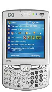 Image of HP Mobile iPAQ hw6965 Mobile