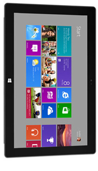Image of Microsoft Windows RT Surface Mobile