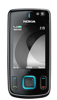 Image of Nokia 6600 Slide Mobile