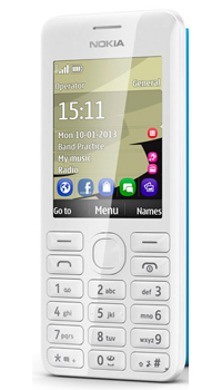 Image of Nokia Asha 206 Mobile