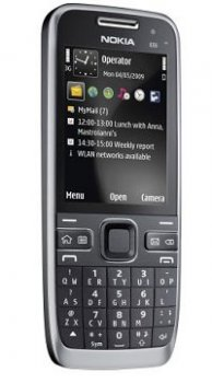 Image of Nokia E55 Mobile