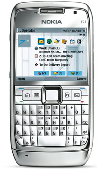 Image of Nokia E71 Mobile