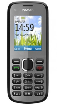 Image of Nokia C1 02 Mobile