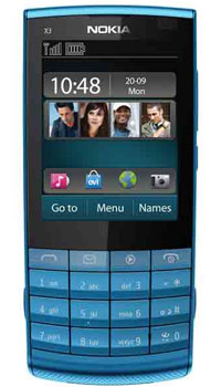 Image of Nokia X3 Touch and Type Mobile