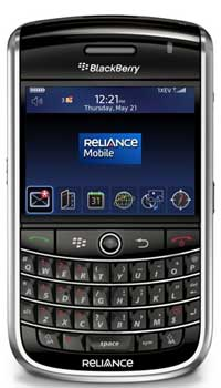 Image of Reliance Mobile BlackBerry Tour 9630 Mobile