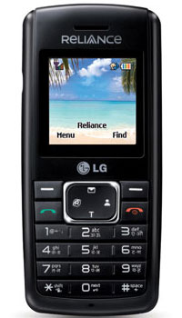 Image of Reliance Mobile LG RD3550 Mobile