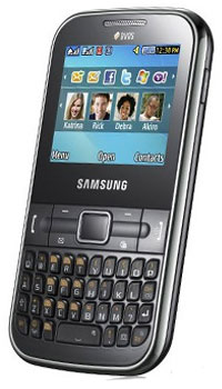 Image of Samsung Chat 322 Mobile