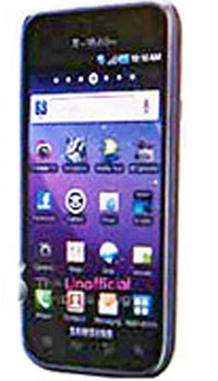 Image of Samsung Galaxy S 4G Mobile