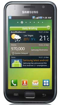 Image of Samsung I9000 Galaxy S Mobile