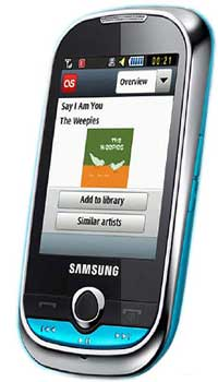 Image of Samsung M3710 Corby Beat Mobile
