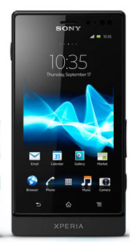 Image of Sony Xperia sola Mobile