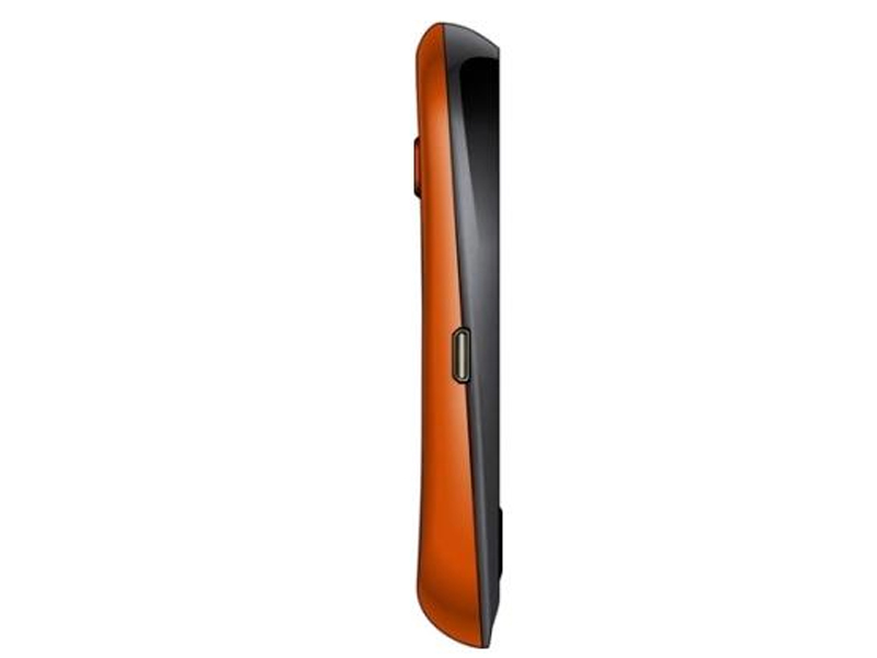 Black And Orange Side View