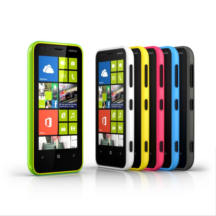 Nokia lumia 620 Color Range
