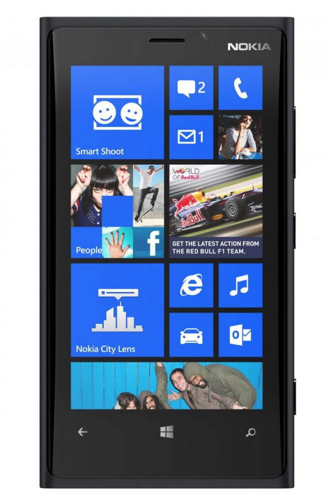 Nokia lumia 920 Black front side view