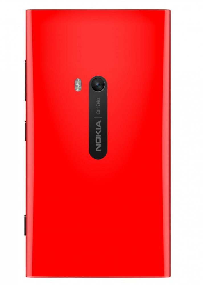 Nokia lumia 920 Red Back side view
