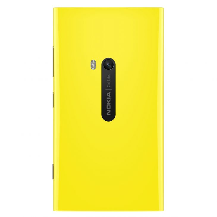 Nokia lumia 920 Yellow Back side view