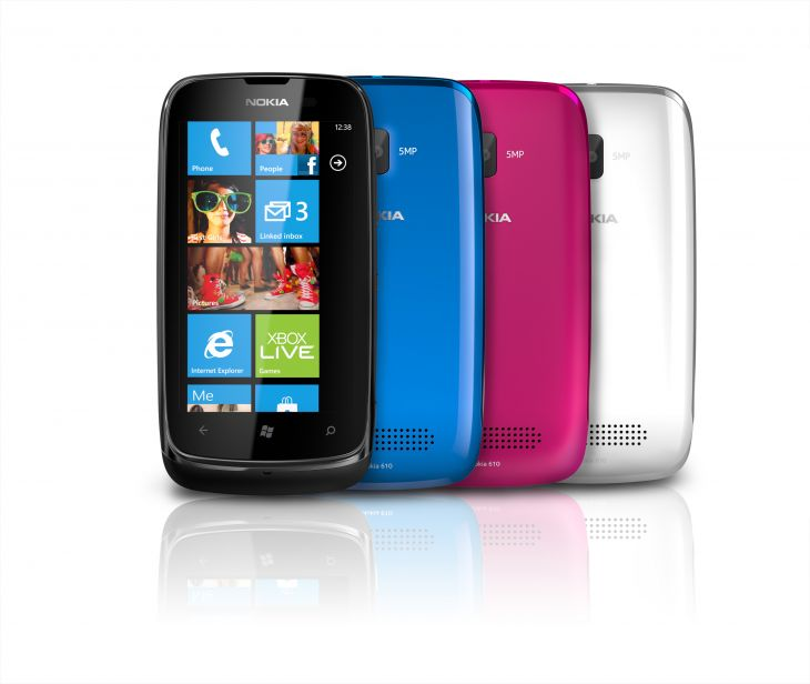 Nokia Lumia 610 NFC Color Range