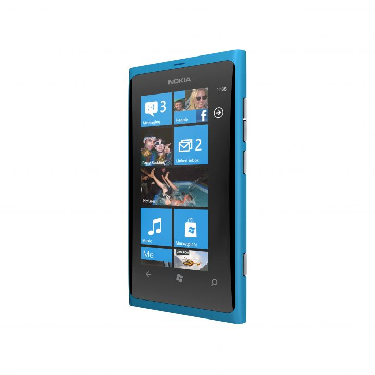 Nokia Lumia 800 Blue Color