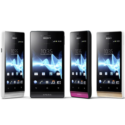 Sony Xperia Miro Color Range