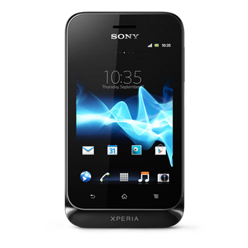 Sony Xperia Tipo Front View Black Color
