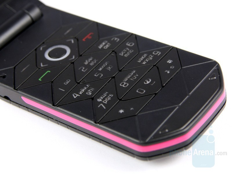 Black & Pink accent Close Keypad View